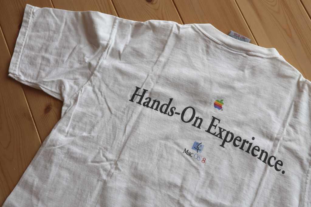 Mac OS 8 Copland t-shirt
