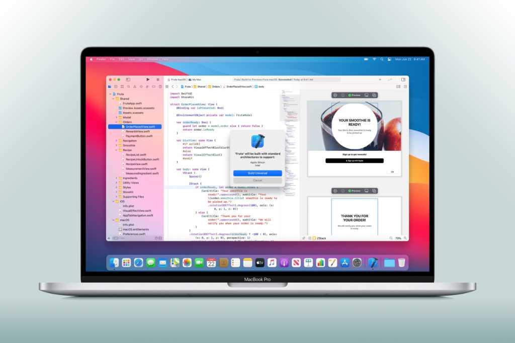 MacBook Pro Xcode
