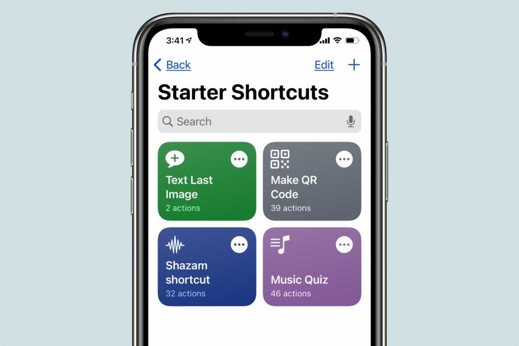 Shortcuts app iOS 14