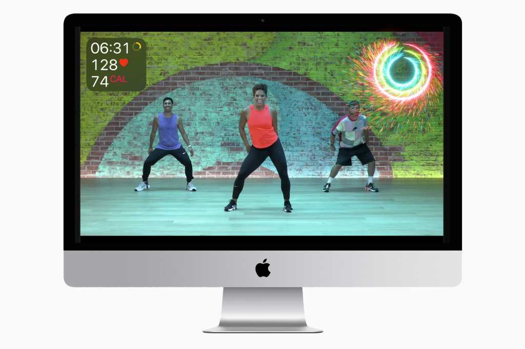 Apple Fitness+ iMac