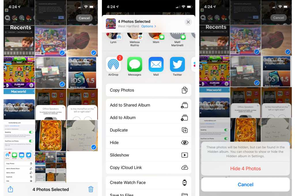 How to hide pics in Apple Photos so no one can ever see them