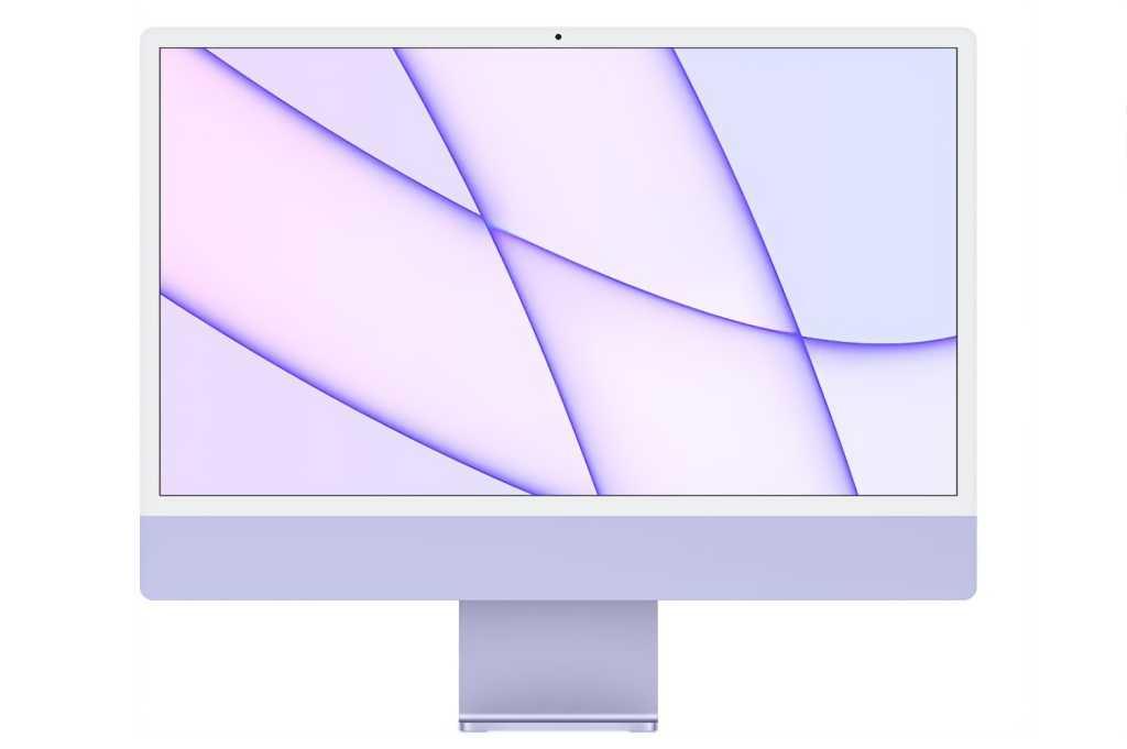 M1 iMac Purple