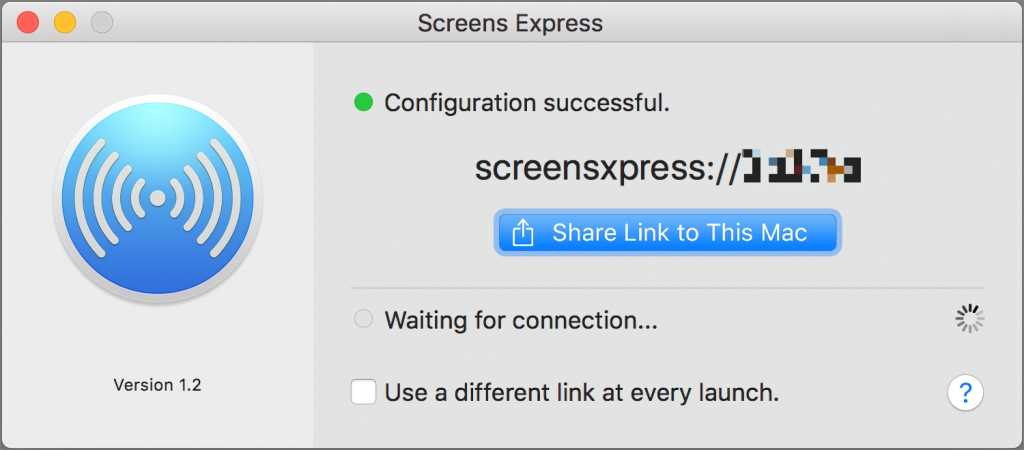 کد اتصال Express Mac را به اشتراک بگذارید