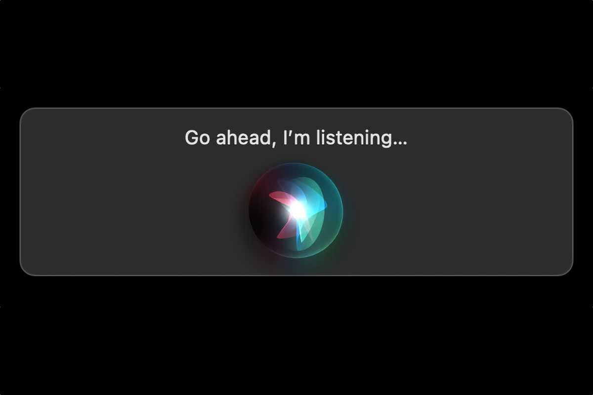 macOS Siri