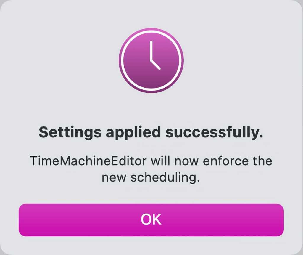 timemachineeditor apply settings