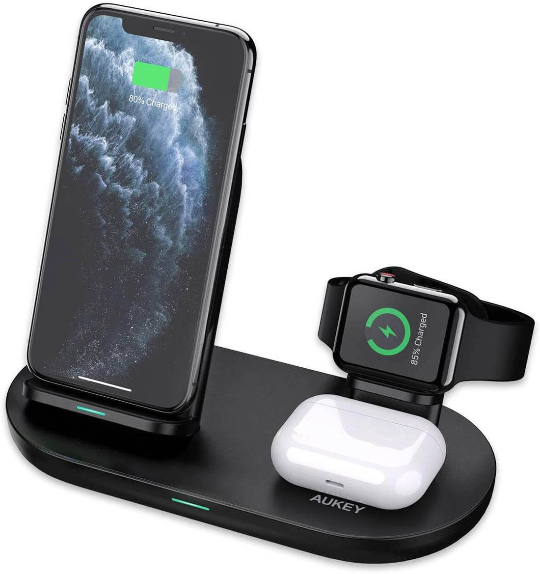 Aircore 3-in-1 Wireless Charging Stand