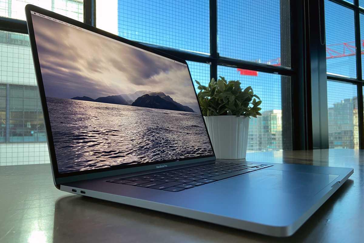 16-inch MacBook Pro 2019