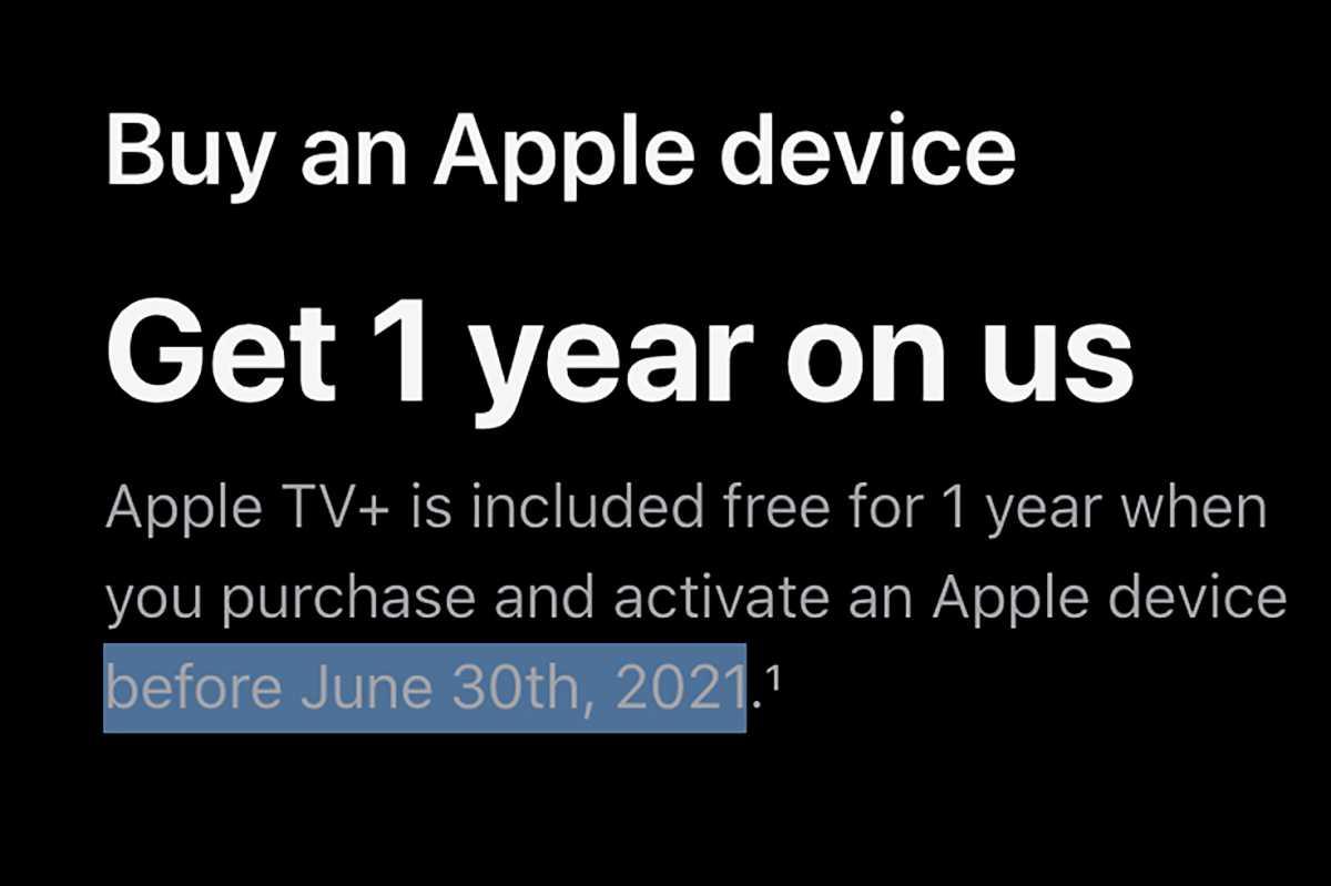 apple tv free offer