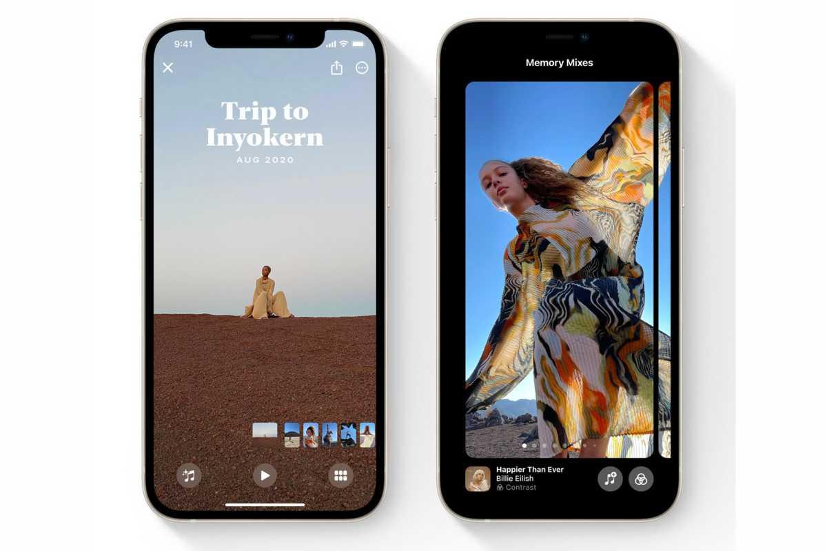 iOS 15 Photos memories