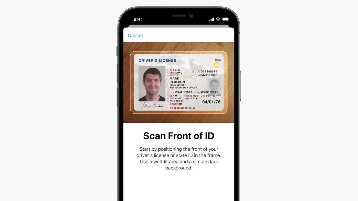 iOS 15 Wallet ID