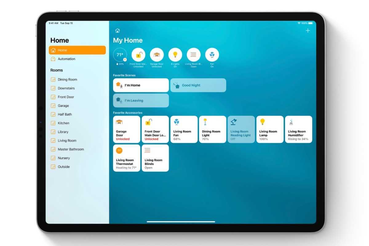 iPadOS 14 Home app