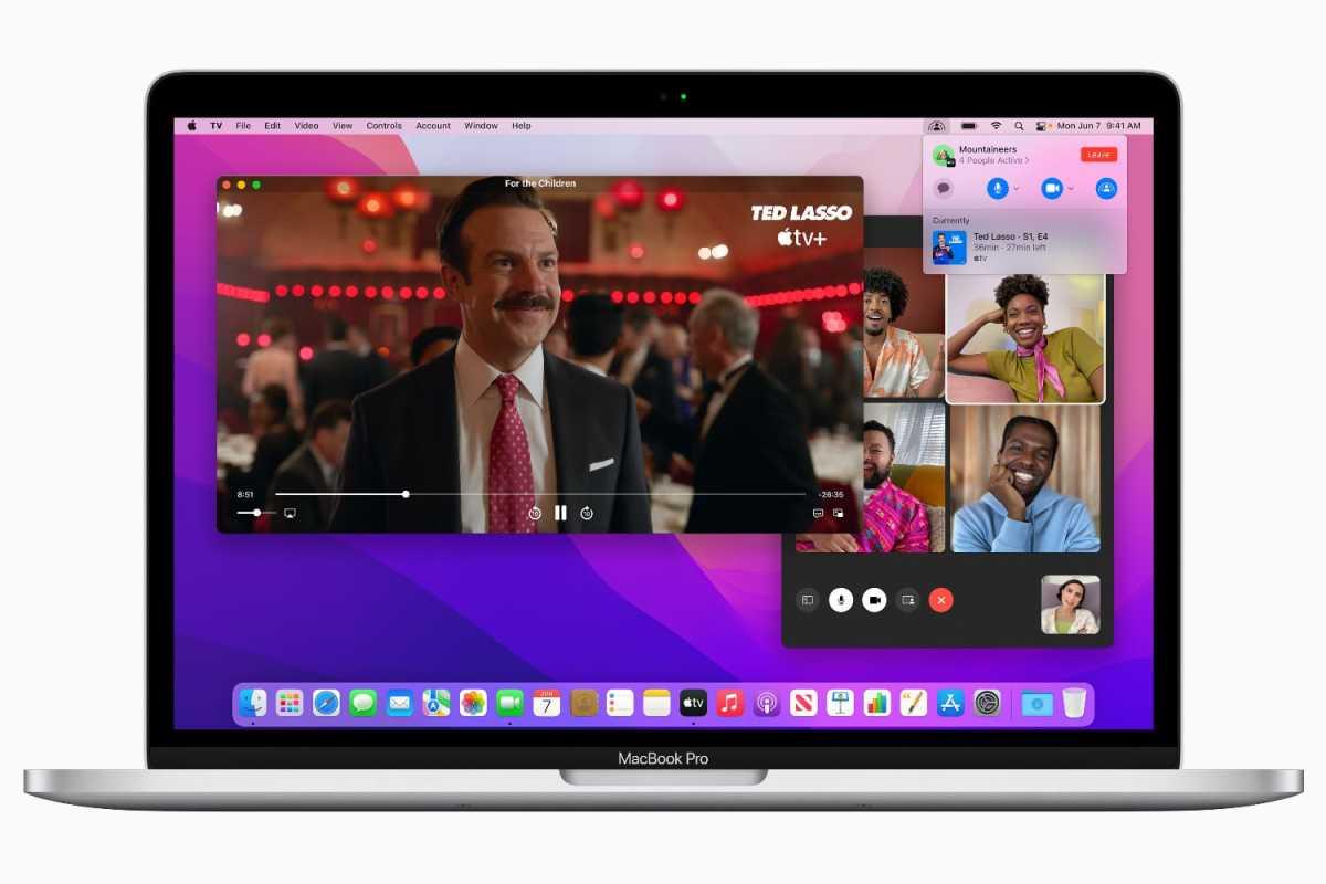 macOS Monterey SharePlay