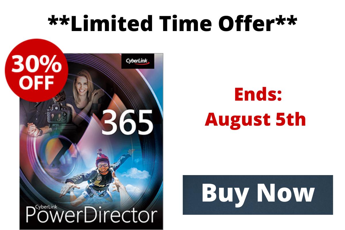 PowerDirector offer