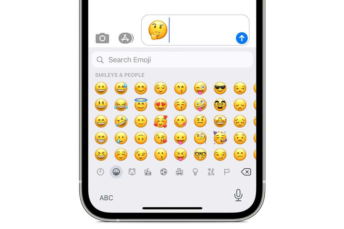 iOS 14 emoji iMessage