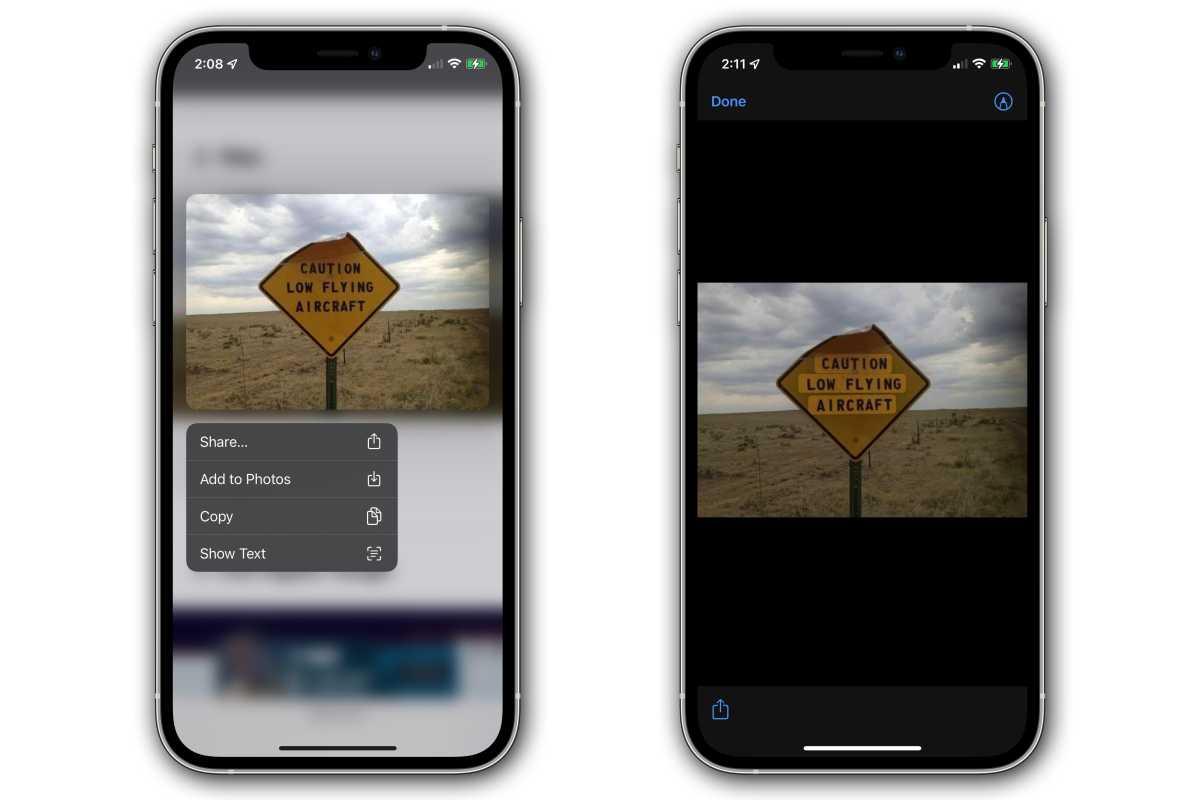 ios 15 live text safari