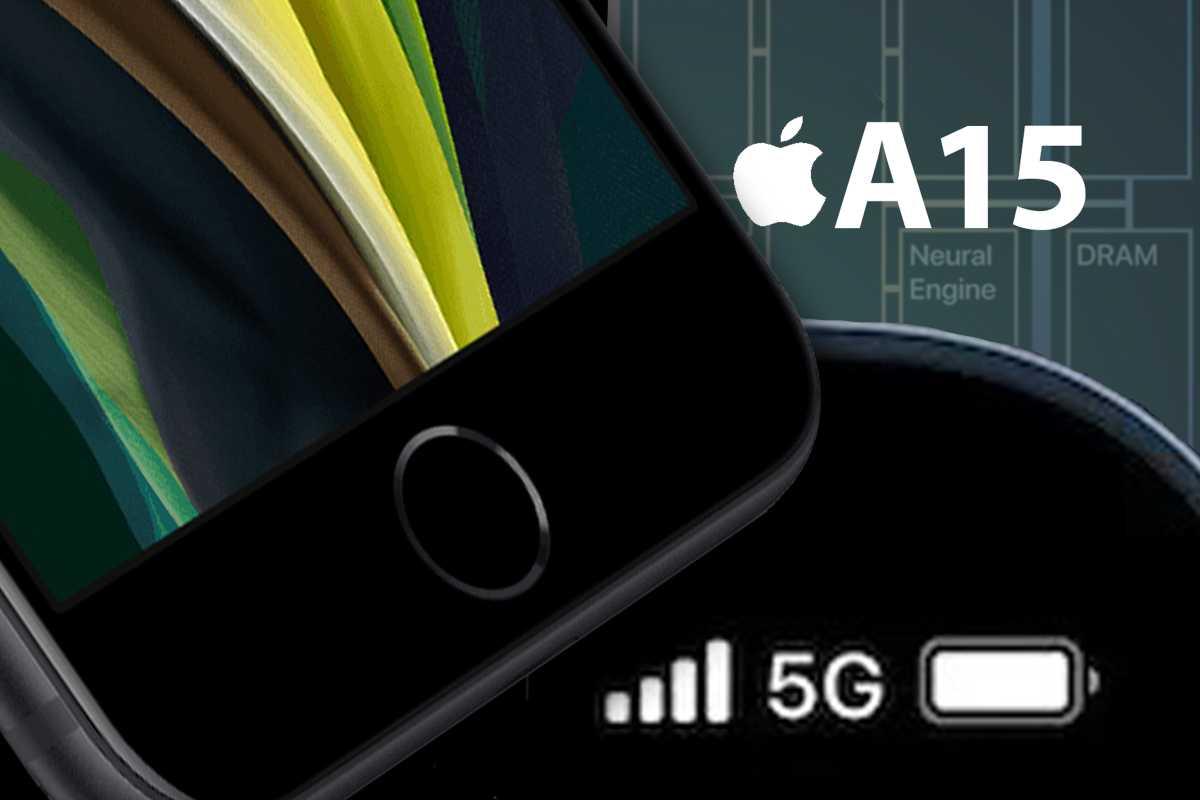 iPhone SE graphic