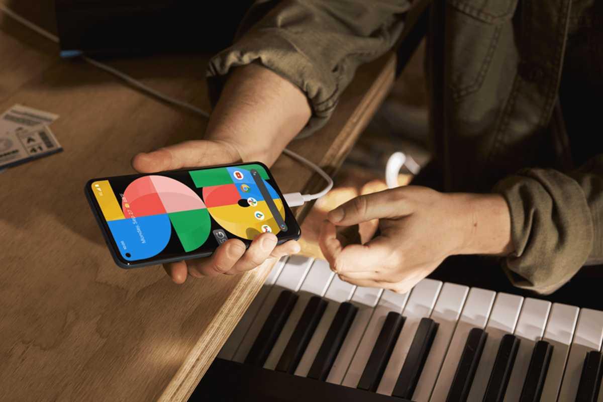 Pixel 5a charging
