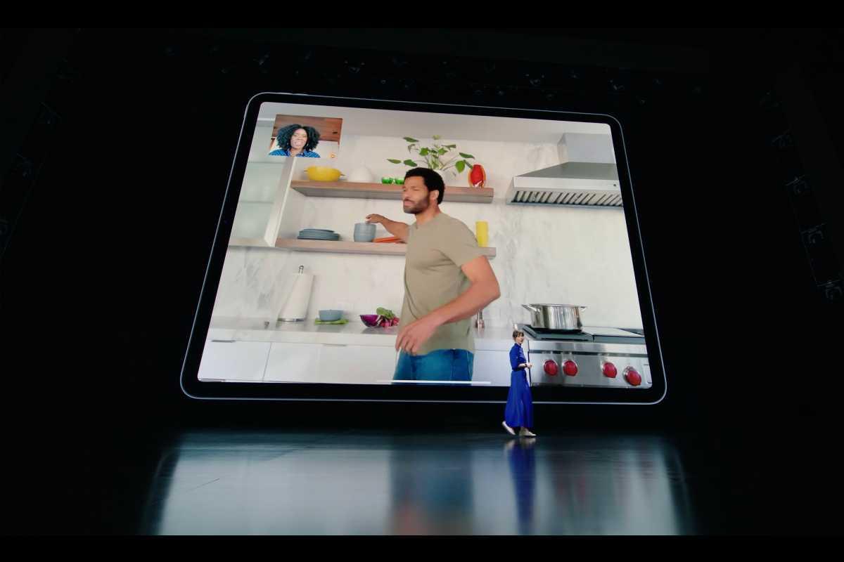 iPad Pro Center Stage