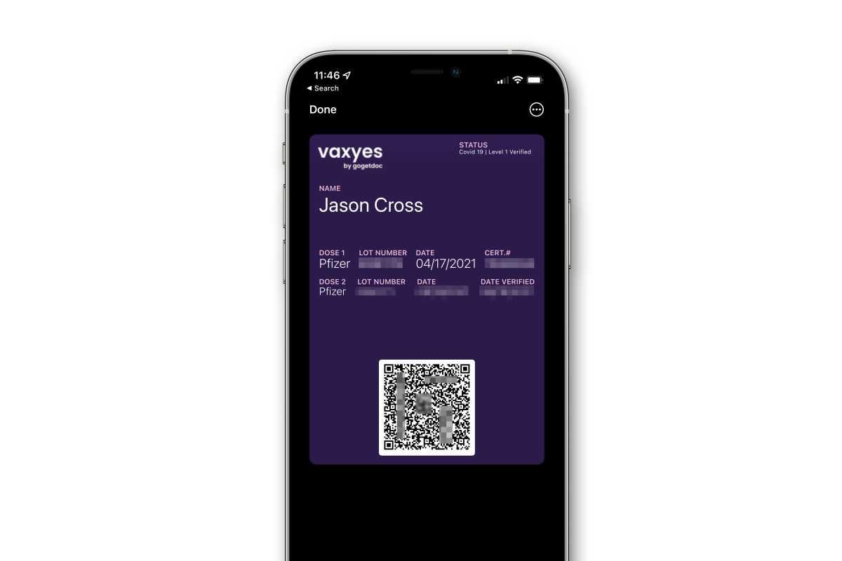 iphone covid passport wallet