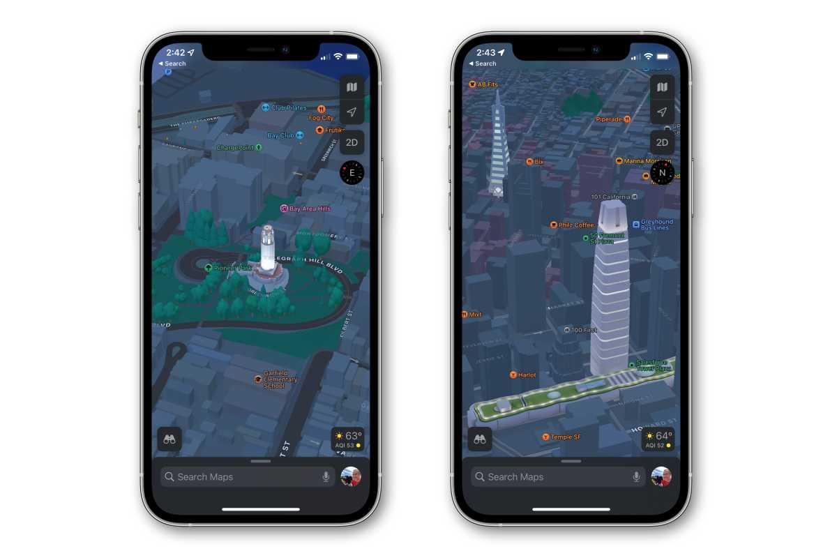 ios 15 maps in 3D