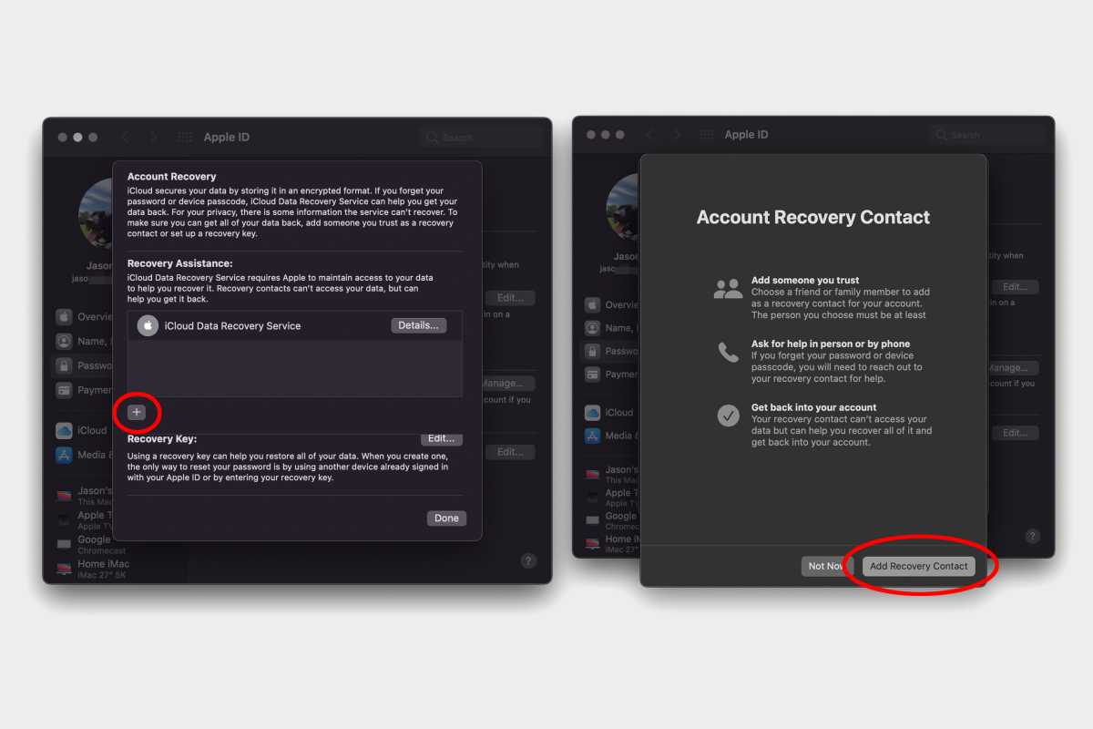 macos monterey recovery contact