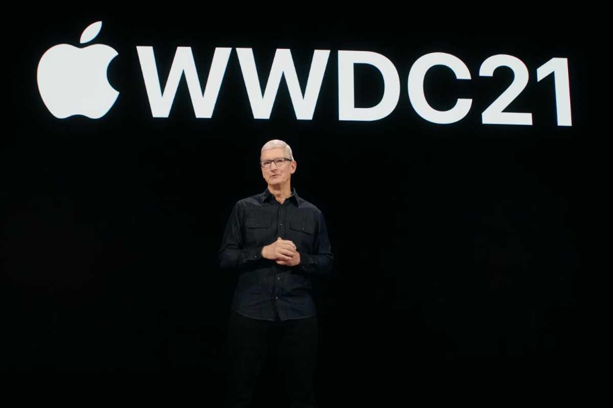 WWDC 21 Tim Cook