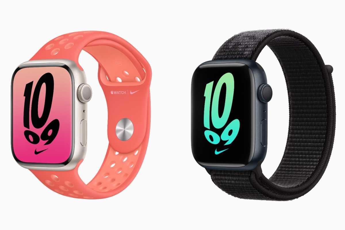 Apple Watch Series 7 Nike