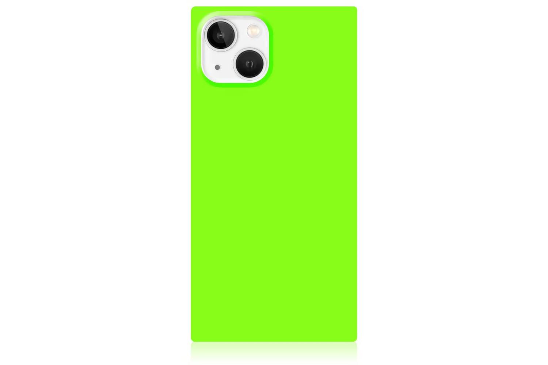 Neon Green iPhone Case