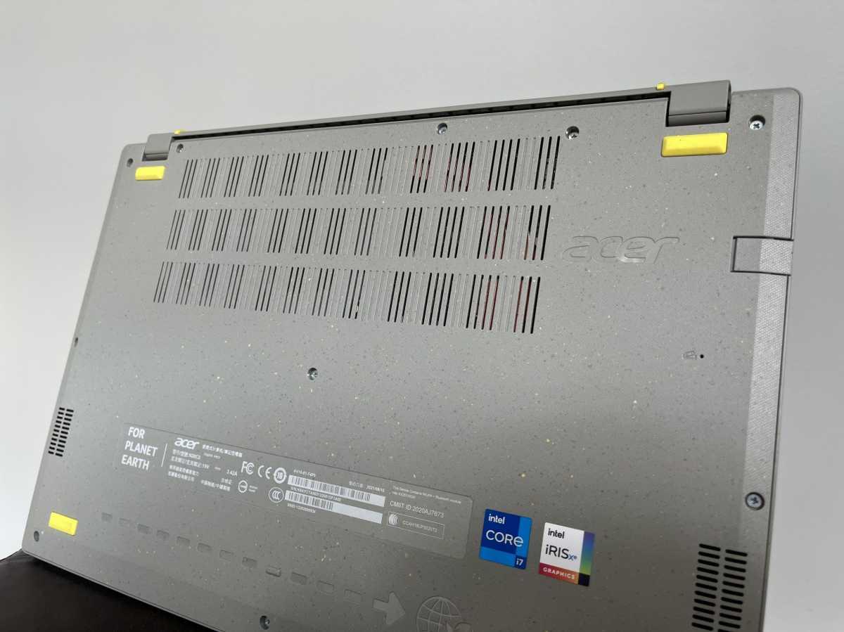 Acer Aspire Vero bottom