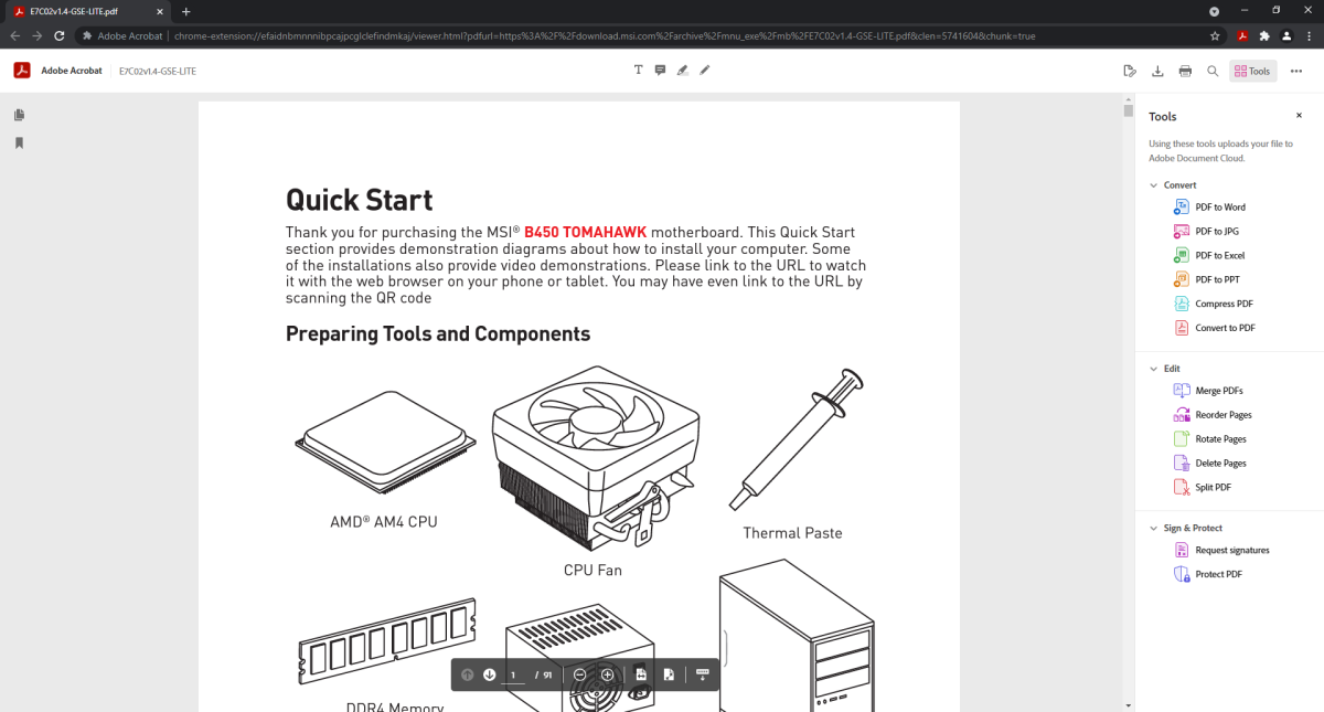 Edit PDFs right in your browser with Adobe's upgraded Acrobat extension