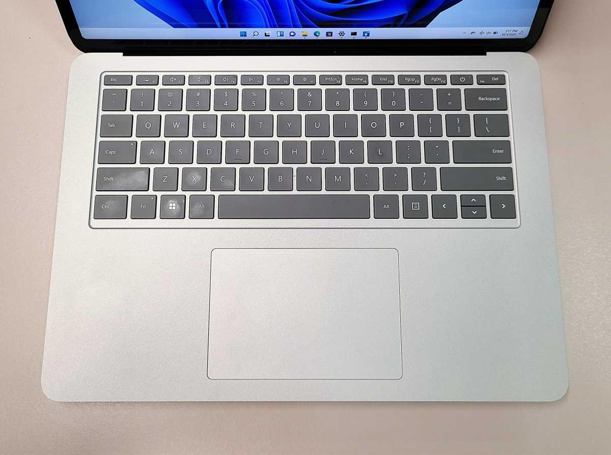Microsoft Surface Laptop Studio keyboard