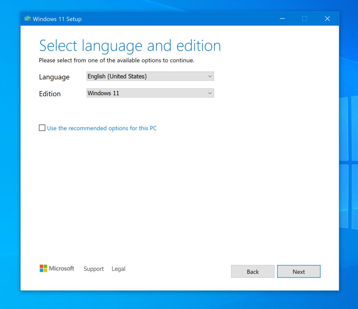 Create Windows 11 Installation Media