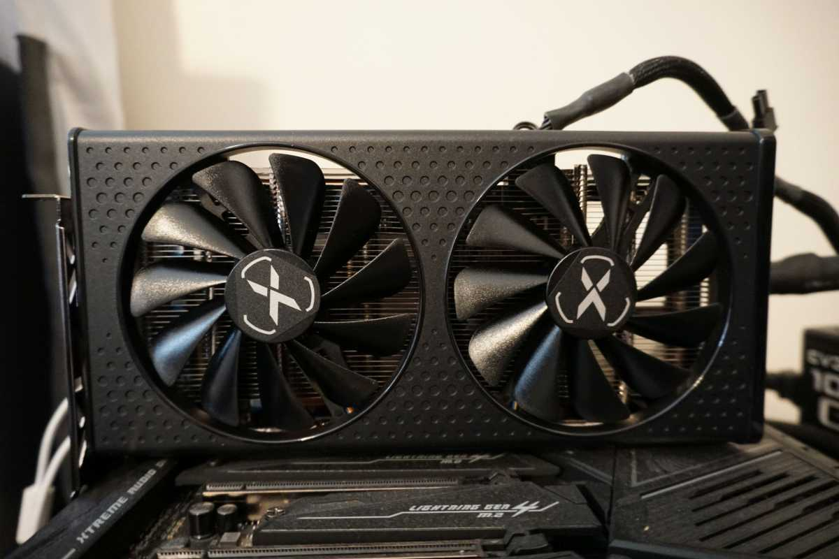 XFX Radeon RX 6600 test system