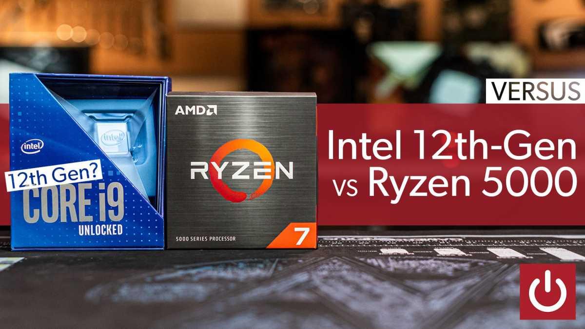 Intel 12th-gen vs Ryzen 5000 image